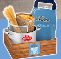 Logo Gioca e vinci 42 Kit Master of Pasta Voiello e in regalo corsi di cucina