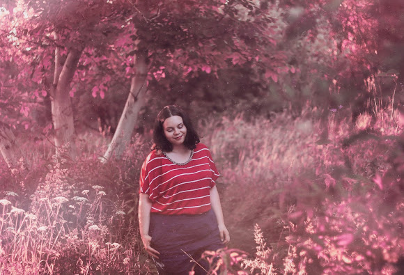 FASHION   FOREST   SERIOUS TOPIC   Plus Size   FotoHart