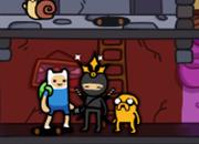 Adventure Time Ninja escape