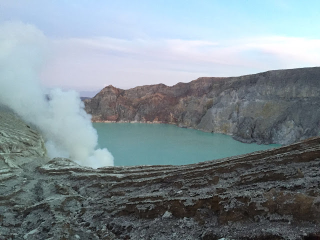 Ijen crater from Bromo