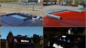 DAF XF 105 & 106 Kelsa Lightbars V1 [1.31]
