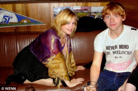 who is rupert grint dating