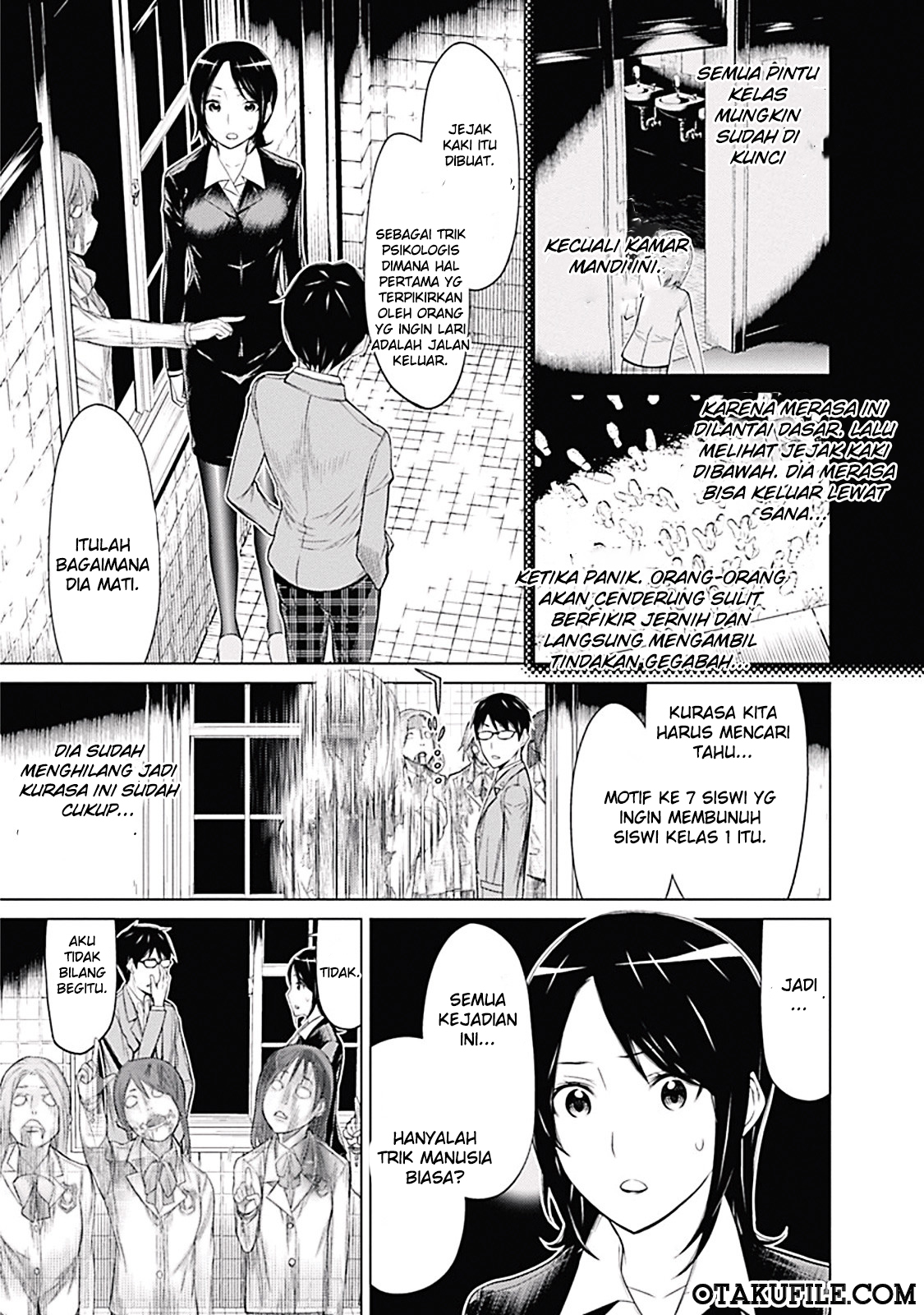 Baca Komik Kako to Nise Tantei Chapter 1 Komik Station