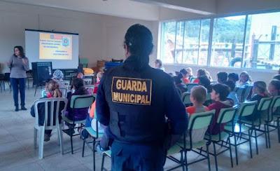Guarda Municipal de Pelotas (RS) palestra para 14 mil estudantes em três anos