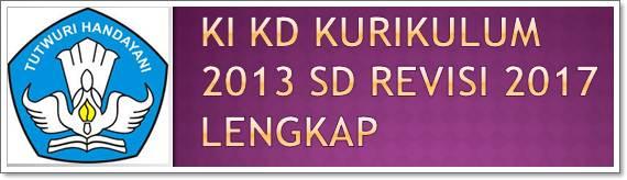 KI & KD Kurikulum 2013