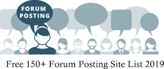 Top 100+ High DA Forum Posting Site List 2019 | Off Page SEO