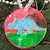 DIY Dinosaur Ornament