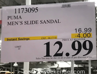 Deal for Puma Men's Starcat Tech Slide Sandals at Costco