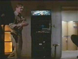 El Arcade Asteroids Deluxe en la película The Thing - 1982