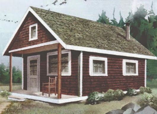 DIY: Build This Cabin For Under $4,000