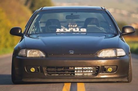Foto Mobil Modifikasi Honda Civic ceper