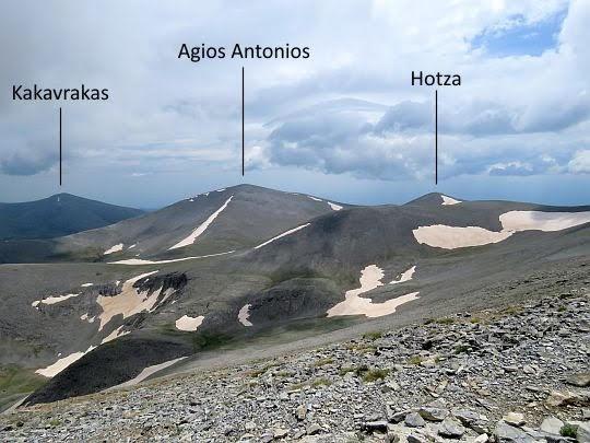 Panorama ze Skali na południe.