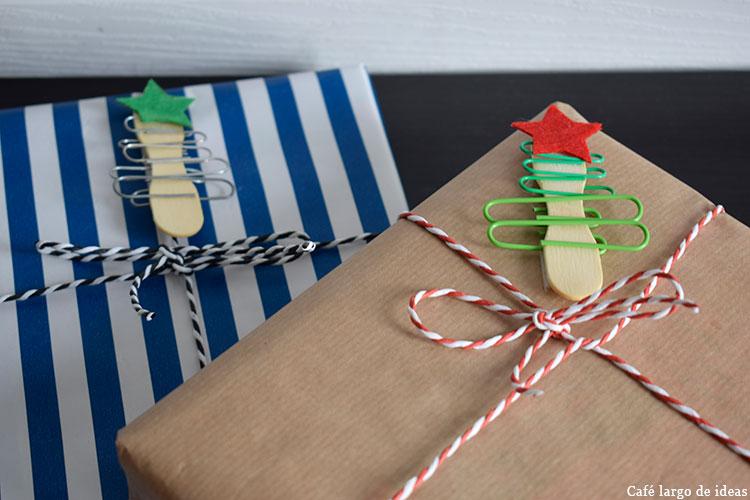 Original packaging de Navidad