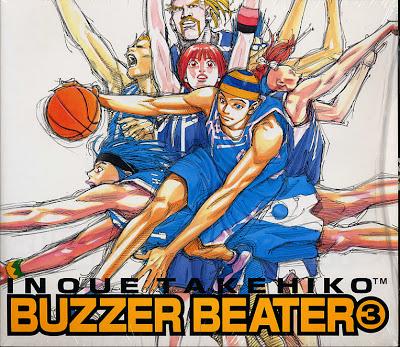 Poster anime bertema basket Buzzer Beater