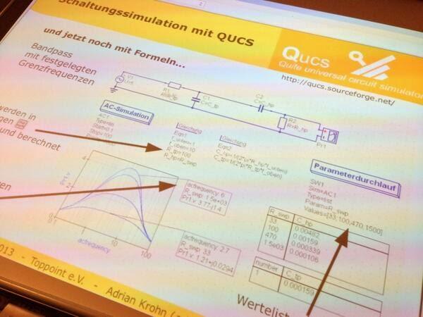 Aplikasi Simulator Rangkaian Elektronik di Linux dengan QUCS
