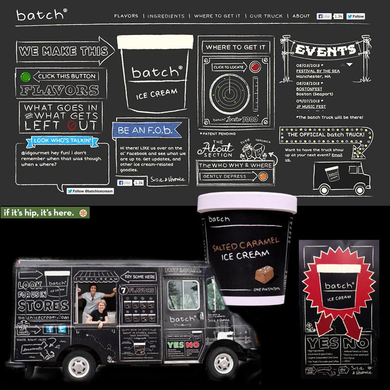 Batch Ice Cream Branding