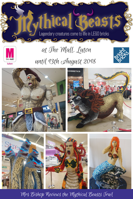 Mythical Beasts at The Mall, Luton