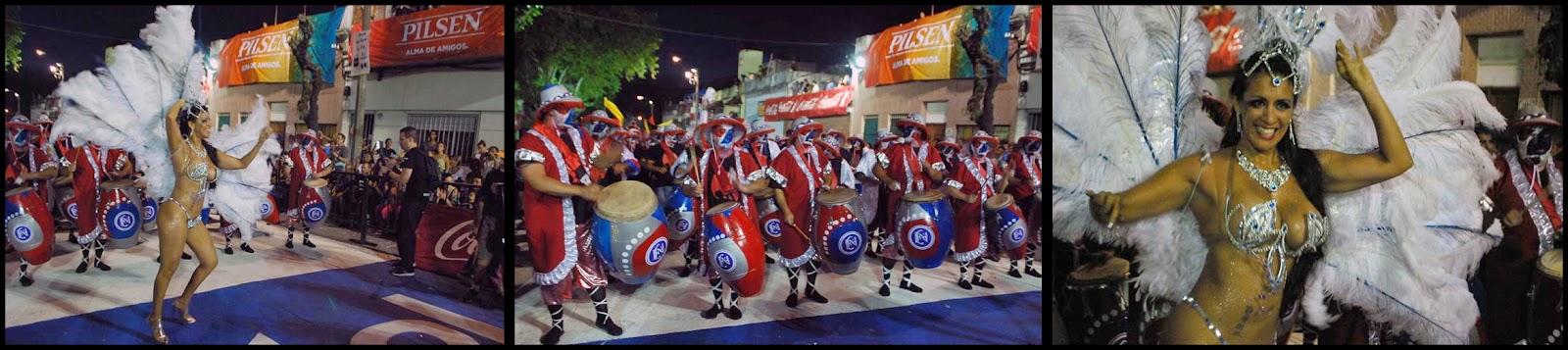 Desfile de Llamadas. La Facala Herederos de Nyanza.