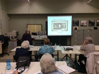 M Diane Rogers, Save the Memories workshop, 2017