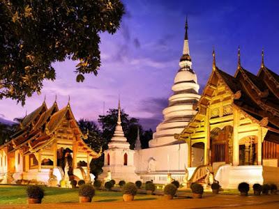 Xứ sở chùa vàng Thái Lan