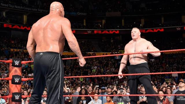 Brock Lesnar Vs Goldberg Payback 2017 Predictions