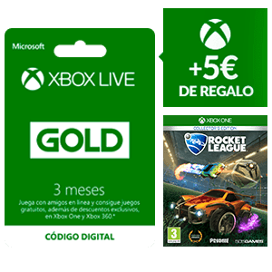Compra tres meses de Gold en Game y llévate Rocket League de regalo