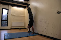 Off the wall Handstand