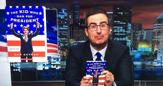 John Oliver turns 20-year-old children's book into bestseller