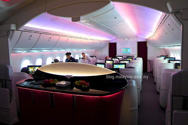 Photo of Qatar Airways Business Class