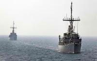 USS Dexrous and USS Sentry