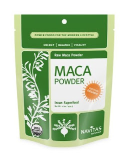 Image: Navitas Naturals Maca Powder - Certified Organic, Kosher, Vegan and Raw.
