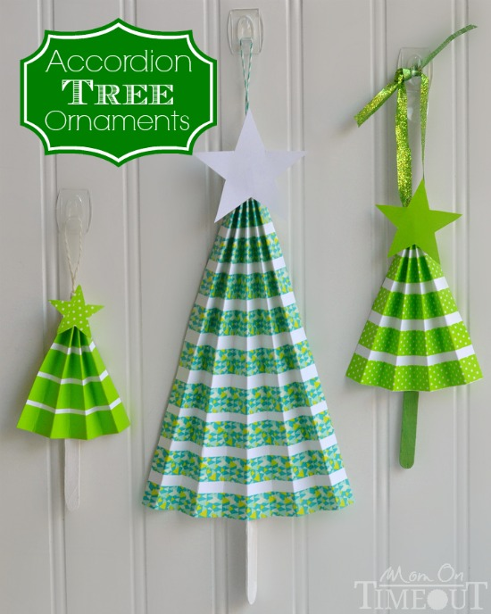 http://www.momontimeout.com/2014/12/easy-accordion-tree-ornaments-craft/