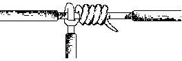 sambungan datar knotted