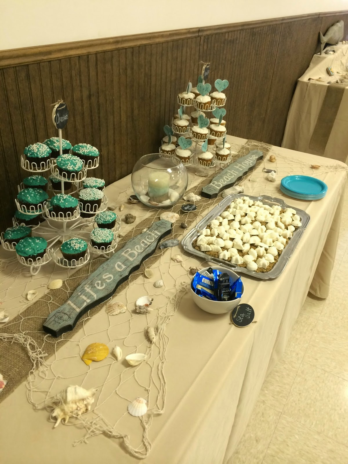 4bd7ea000946 My Favorite Things  Jess s Beach Themed Wedding Shower    MOH    May 2014