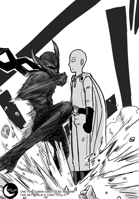 Black Lunette: 👉 SPOILER ALERT! #Saitama Vs. Garou! 🔥 #OPM ...