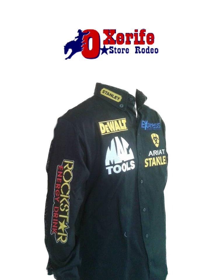 d5f417ef3b3ad Camisa Rodeio Rockstar Rodeo R  185