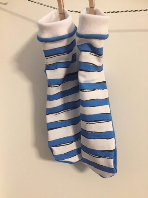 Nanusch näht: Ringelprinz und Ringelprinzessin - Socken nähen leicht ...