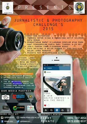 Jurnalistic & Photography Challenge 2015