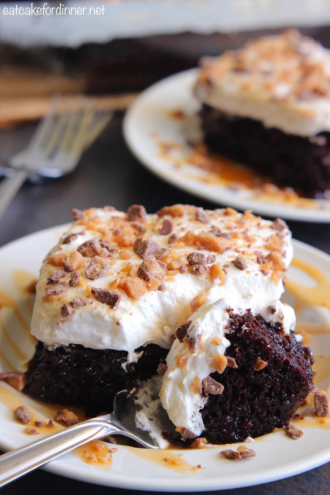 Eat Cake For Dinner Better Than Anything Zucchini Poke Cake