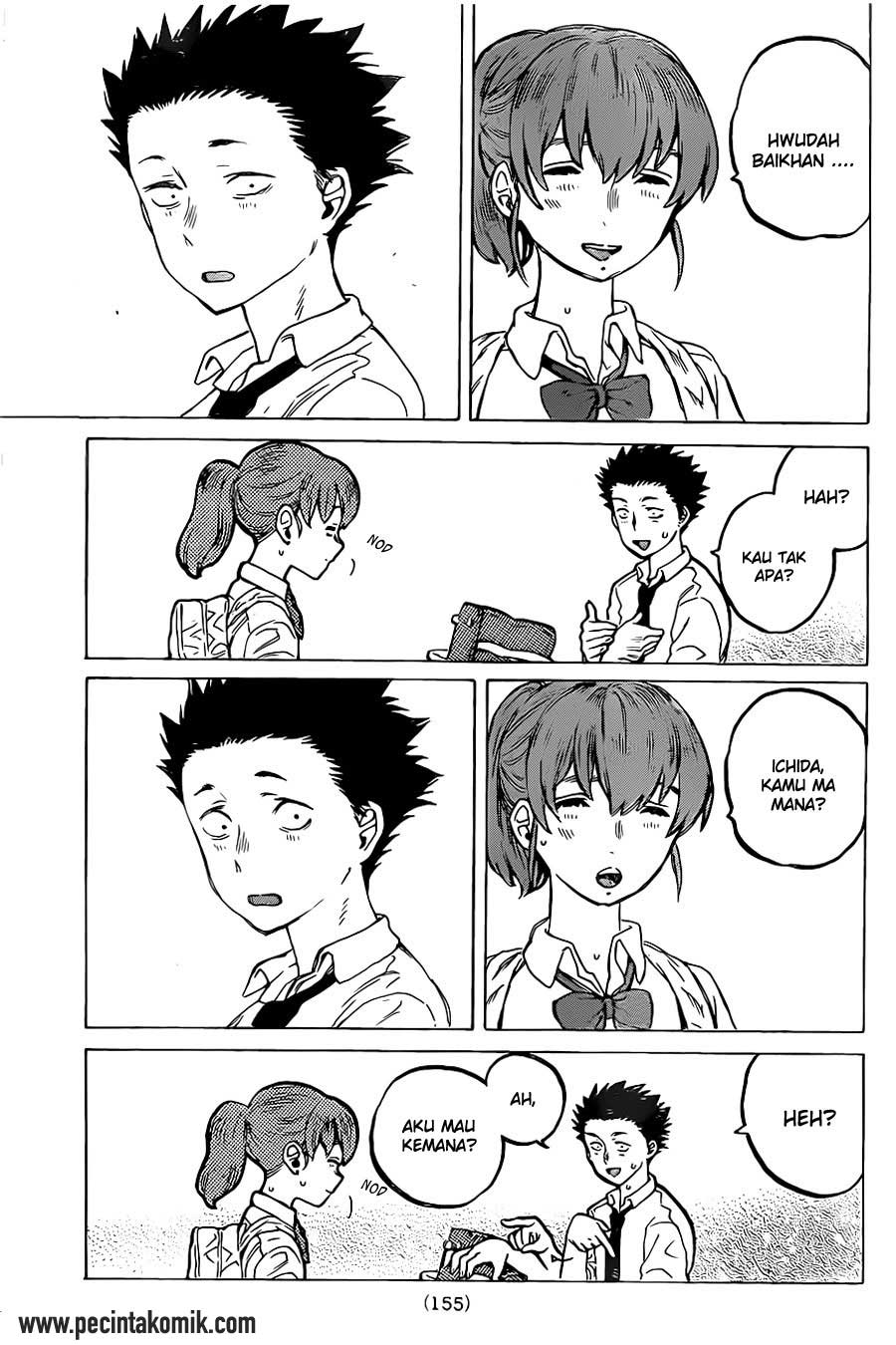 Koe no Katachi Chapter 23-4