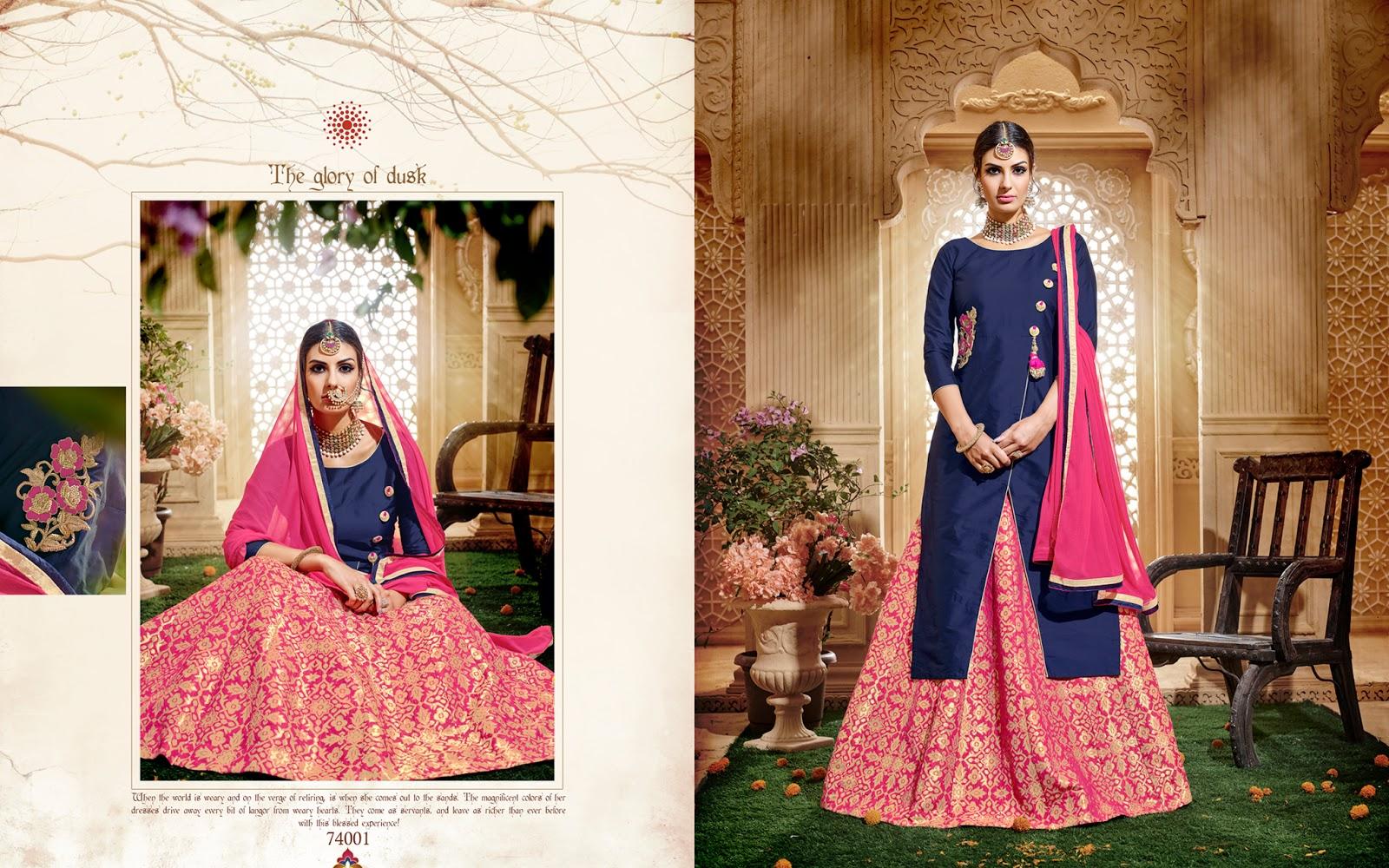 Kavvya 74 – Designer Stylist Embroidored Anarkali Salwar Suit