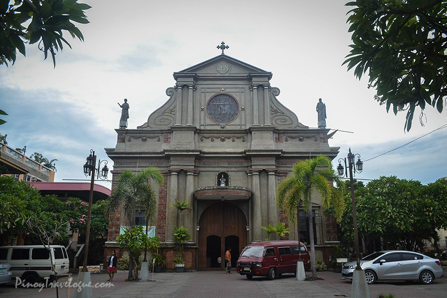 Facade of Dumaguete Cathedral