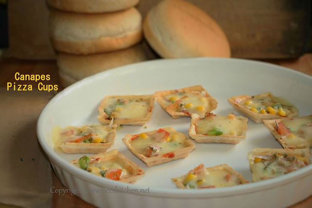 Canapes Pizza Cups
