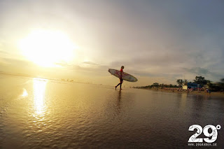 Nybörjarvänliga surfbryt på Bali