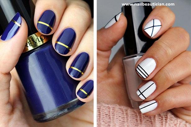 no tool nail art