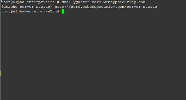 snallygaster – Scan For Secret Files On HTTP Servers