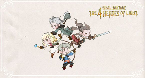 final fantasy 4 heroes of light