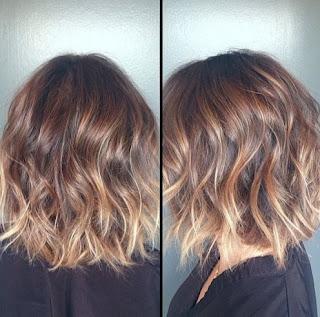Model Rambut Pendek Short Ombre Hair Trend Hairstyle Wanita Terbaru