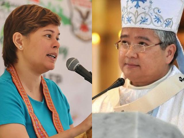 WATCH   Davao City Mayor Inday-Sara Duterte's open letter to Bishop Socrates Villegas