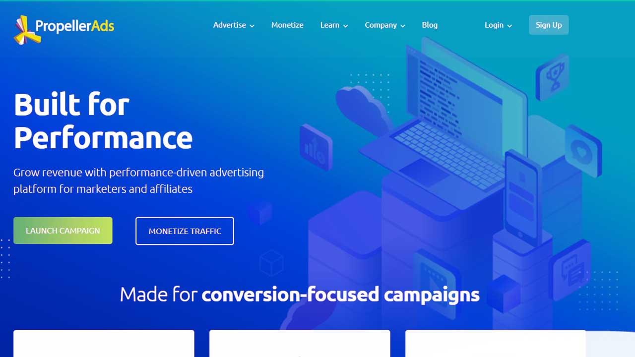 PropellerAds, Monetisasi Blog Dengan Push Ads